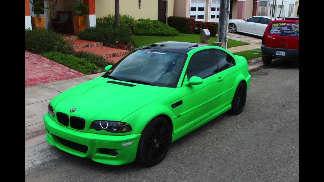 Bright Lime Green Auto Paint
