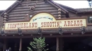 Frontierland Shooting Arcade At Magic Kingdom