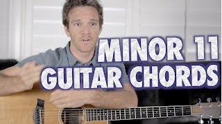 minor 11guitar chords: what, where and when