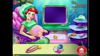Дисней Русалочка Игра—Дисней Принцесса Ариэль Беременна—Мультик Онлайн Видео Игра Для Детей 2015