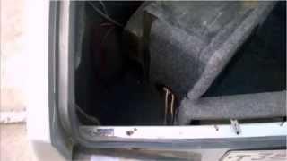 видео Что сделать с дверью багажника гремит постоянно