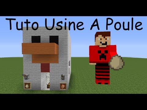 Minecraft tutoriel usine poulets 100 automatique doovi - Poule minecraft ...