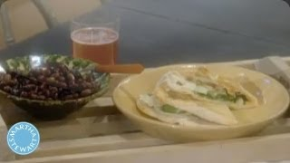 How To Make A Pizza Dough Panini Sandwich - Martha Stewart