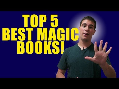 TOP 5 MAGIC BOOKS // YOU SHOULD READ!