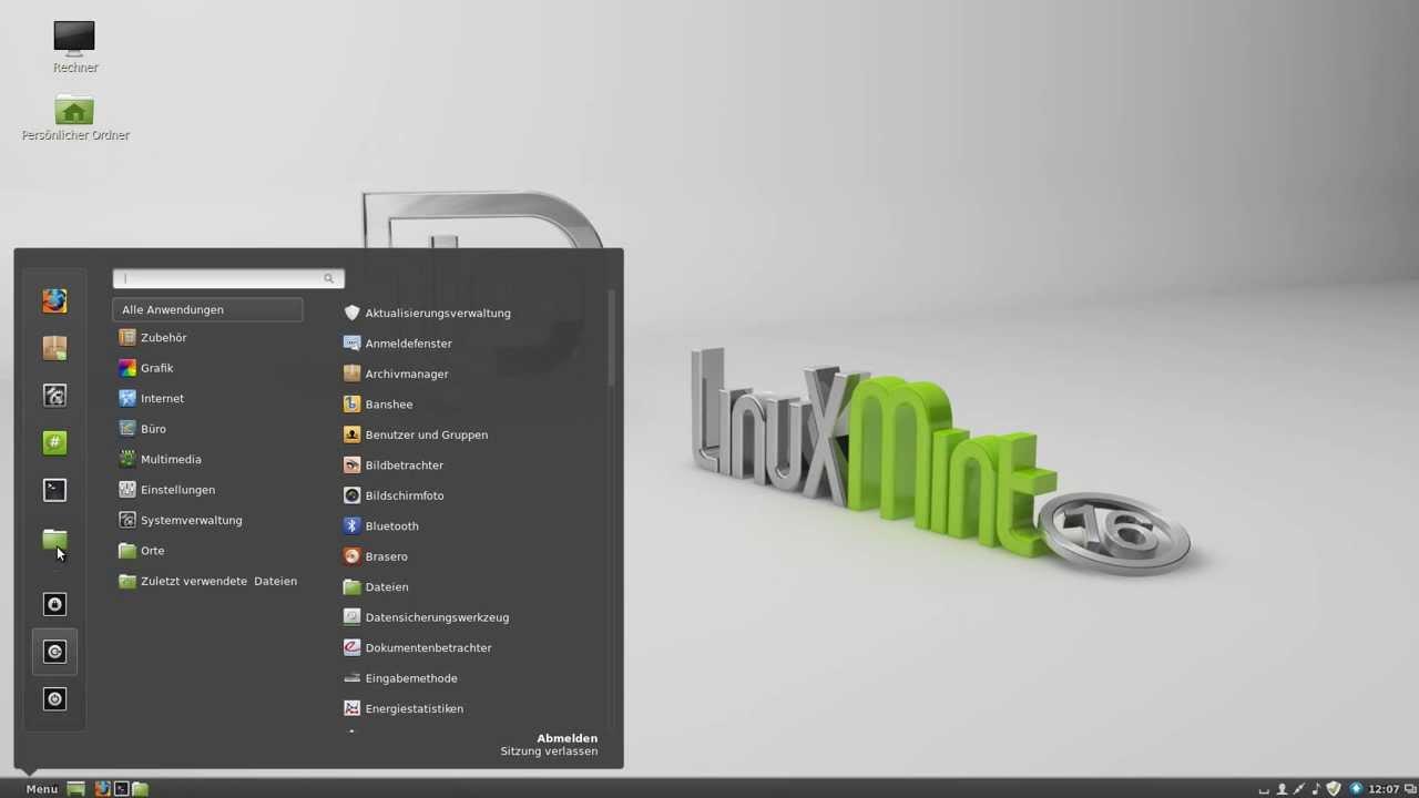 Linux Mint 16 Petra Cinnamon - Ein kleiner Vergleich mit ...