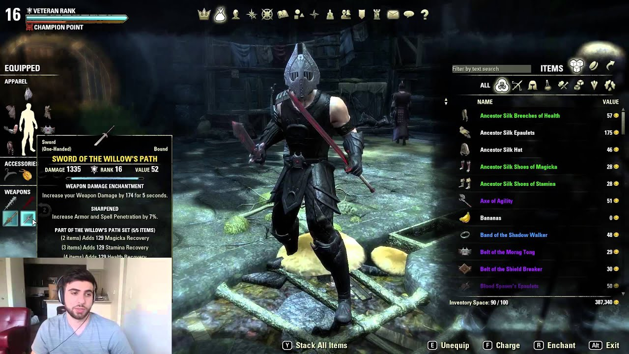 Eso Stamina Pvp Build Sypher
