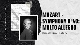 Mozart - Symphony Nº40: Molto Allegro