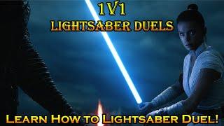 How to Lightsaber Duel: 1V1 Dueling & 2V1 Dueling in Hero Showdown - Star Wars Battlefront 2