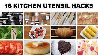 16 Kitchen Utensil Hacks