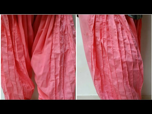 Designer salwar cutting and stitching easy tutorial/ latest salwars