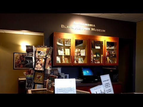 Visiting the Alexandria Black History Museum in Alexandria, Virginia