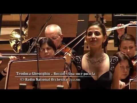 Teodora Gheorghiu - Una voce poco fa (live)