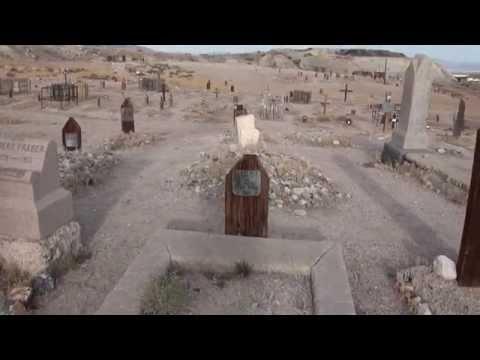 Old Tonopah Cemetery near Clown Motel. Nevada
