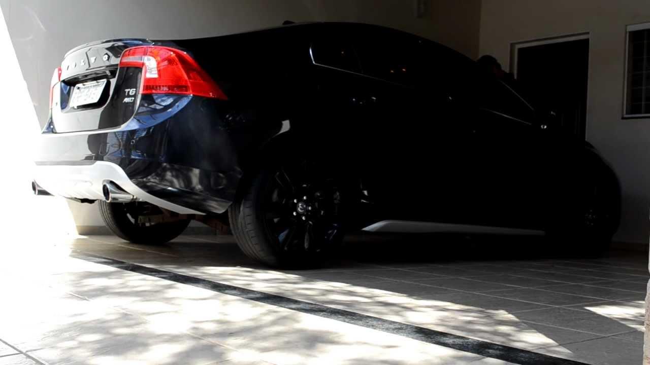 VOLVO S60 T6 AWD COLD START CUSTOM EXHAUST - YouTube