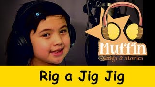 Rig a Jig Jig  Family Sing Along - Muffin Songs