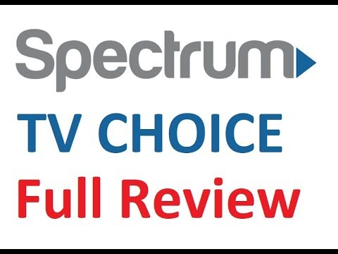 spectrum tv choice review demo
