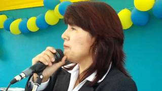 Aniversario del Colegio : Palabras de la directora