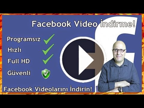 Facebook'tan Programsız Video İndirmek