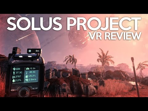 The Solus Project VR Review - The Extreme Weather Simulator