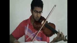 Hanthanata Payana Sanda Violin Cover by Jemini Santhushta