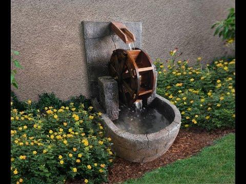 Gentil Water Wheel Fountain | AD97733