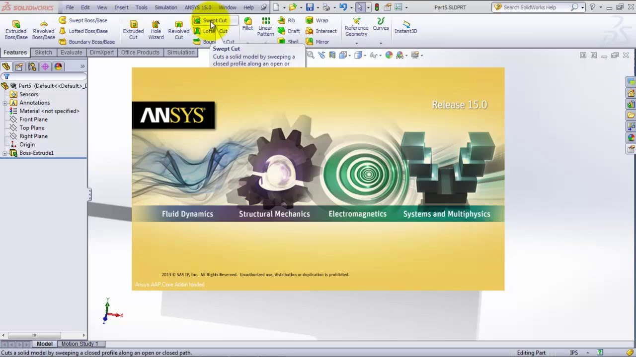 Introduction to SolidWorks and ANSYS Workbench
