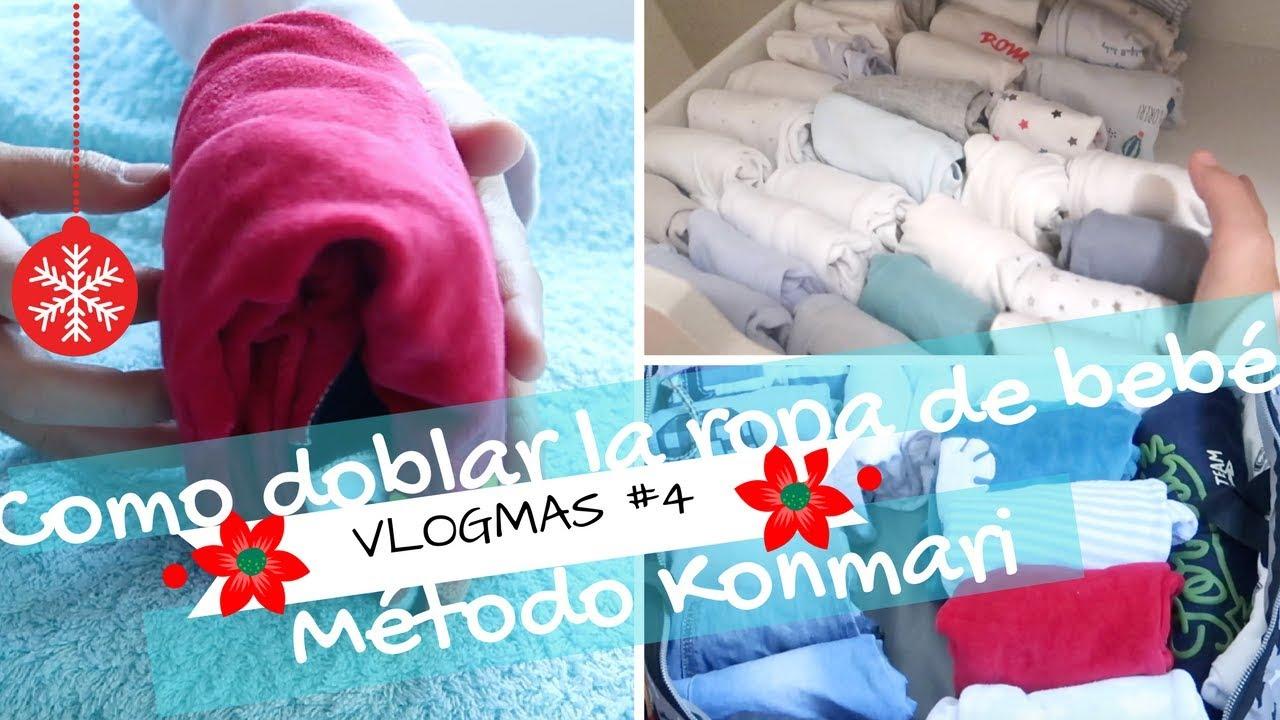 Vlogmas 4 como doblar la ropa de bebe marie kondo - Metodo konmari ropa ...