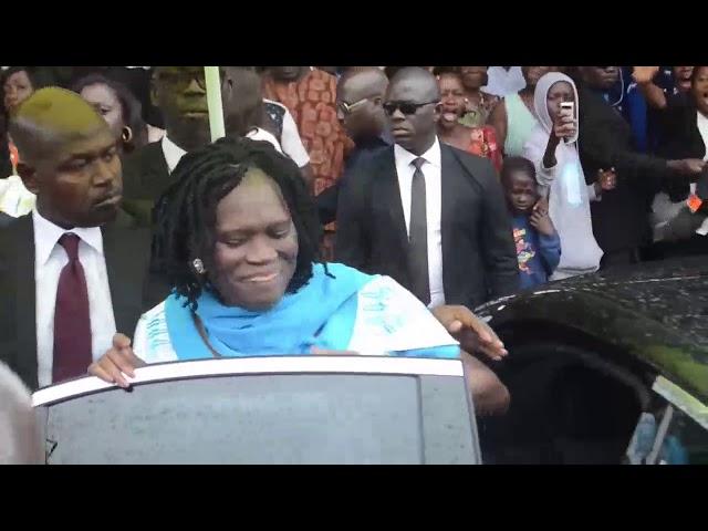 Reconciliation des Ivoiriens -  Mots de remerciements et Appel au Pardon de Simone Gbagbo