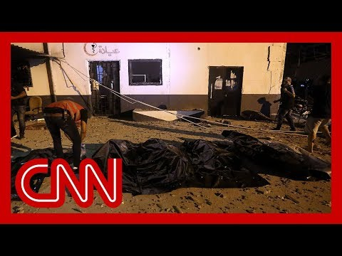 UN agency condemns airstrike on migrant center in Libya