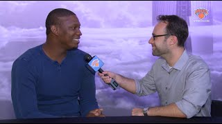 1-on-1 with Kevin Seraphin: Bringing A Physical Presence, Pet Snake, and More!