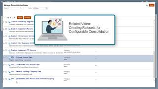 Setting Up Equity Pickup in Financial Consolidation and Close video thumbnail