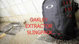new edc bag oakley extractor sling pack