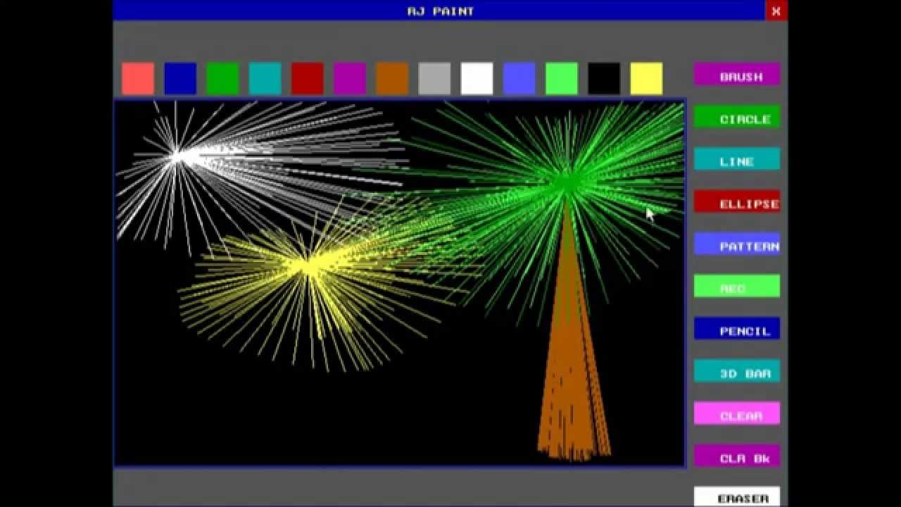 C Paint Application Developed In C Programming Language