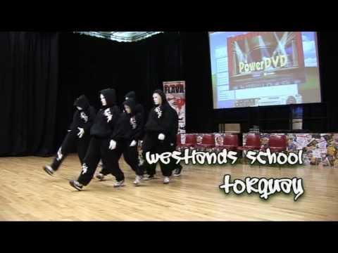 Flava 'b Inspired' dance workshop at Westlands School, Torquay in  March 2009