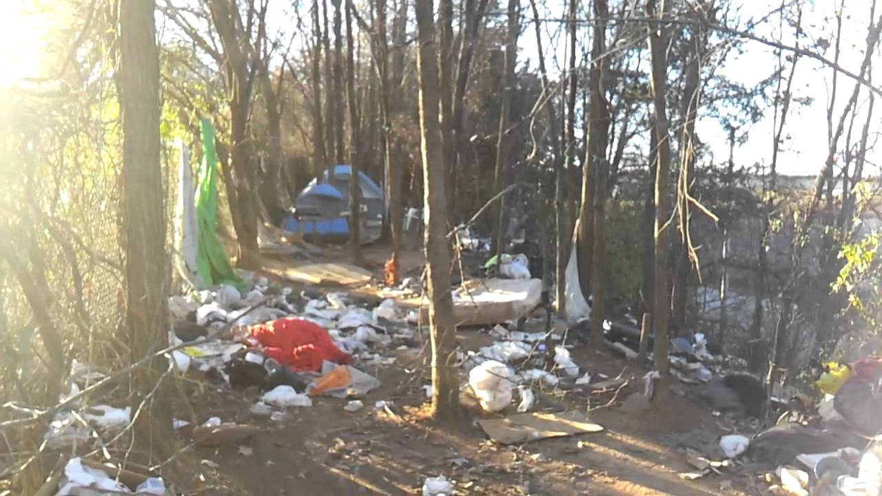 Tent City Atlanta Ga Mechanicsville Youtube
