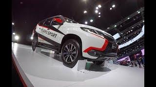 Video New 2018 SUV Mitsubishi Pajero Sport 2017 4WD download MP3, 3GP, MP4, WEBM, AVI, FLV Maret 2018