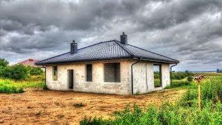 Ile kosztuje budowa małego domu parterowego 106m2 SSO ? Jak wybudować dom? Budowa domu 2017
