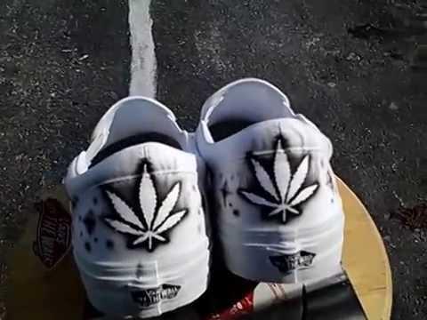Vans shoes. RG Aibrush Designs