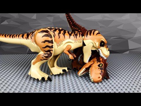 Мультфильм про динозавры лего
