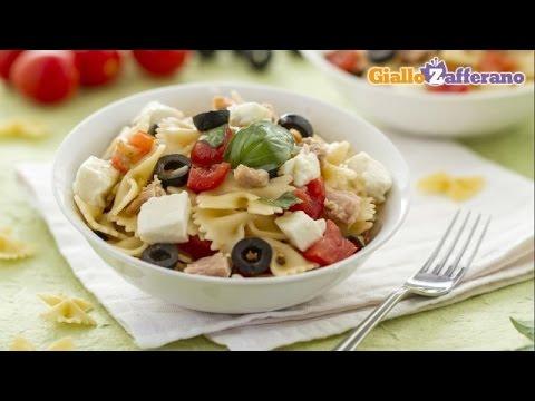 Mediterranean pasta salad - recipe