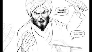 Are Cartoons worse than Blasphemy?