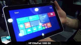 HP ElitePad 1000 G2 and accessories ENG