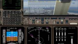 FS2004 PMDG 747-400 KJFK RWY13L ILS AUTOLAND