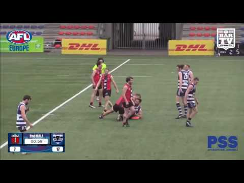 2017 AFL Europe - European Champions League Men's Grand Final Full Match