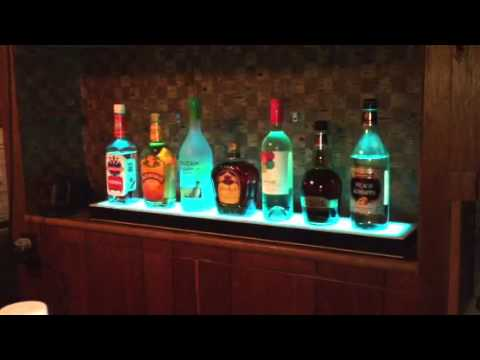 Info lighted bar shelf youtube mozeypictures Gallery