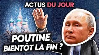 Poutine face à une menace historique, folie en Bourse, confiance dans les médias... Actus du jour