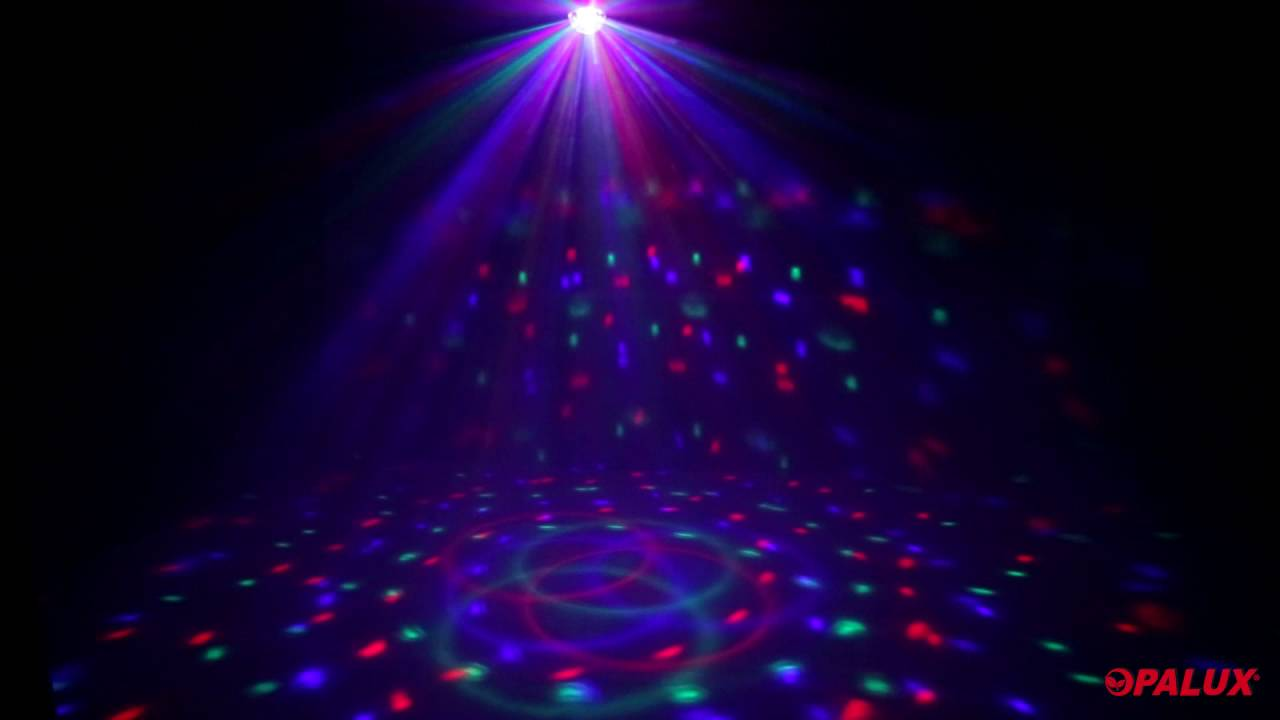 luz de discoteca bola astro rgb opalux youtube