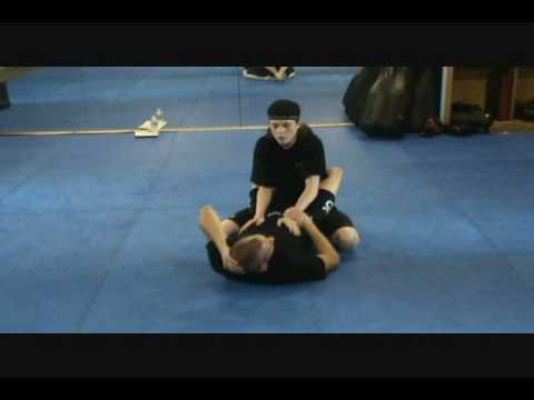 Arm Triangle from Guard