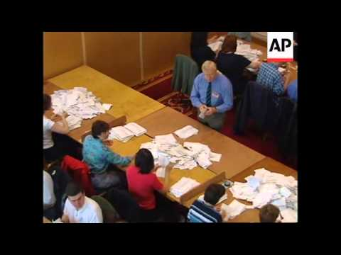N: IRELAND: VOTE COUNTING BEGINS IN NEW ASSEMBLY ELECTION