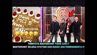 BOCORAN PEMENANG MASTERCHEF INDONESIA SEASON 5, Syuting terakhir di Gallery